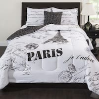 CASA J'ADORE Paris 5-piece Comforter Set