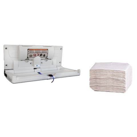 Karma Baby Diaper Changing Station Liners (500) and Diaper Changing Station Kit