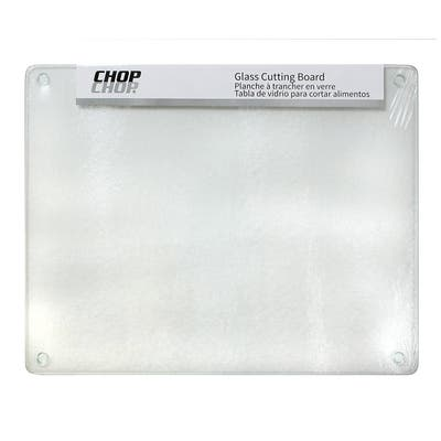 "Chop-Chop Glass Cutting Board / Counter Saver 16""x20"" - 16x20"
