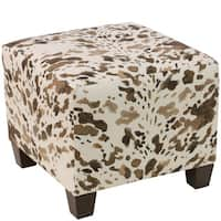 Skyline Furniture Ottoman in Cow Natural