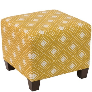 Skyline Furniture Ottoman in Diamond Yellow