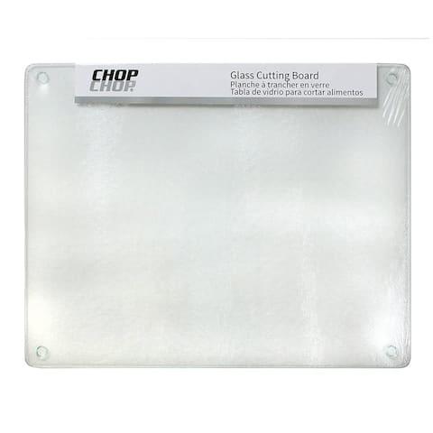 "Chop-Chop Glass Cutting Board / Counter Saver 12""x15"""