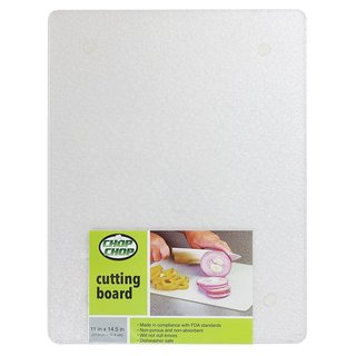 "Chop-Chop Acrylic Cutting Board / Counter Saver 11"" x 14"""