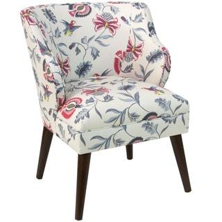 Skyline Furniture Modern Chair in Jacobean Bright Multi