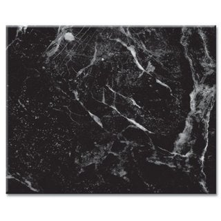 "Counterart Glass Cutting Board - Black Marble - 12""x15"""