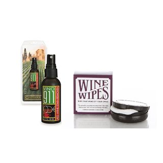 Cork Pops Giovanni Vino Wine Stain Remover and Wine Wipes Travel Kit