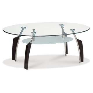 Global Furniture Glass Top Cocktail Table