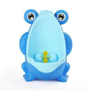 Potty Training Little Boys' Royal Blue Frog Urinal