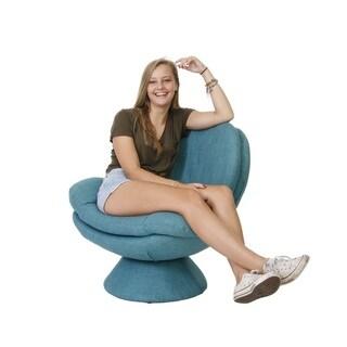 NewRidge Home Swivel Scoop Chair