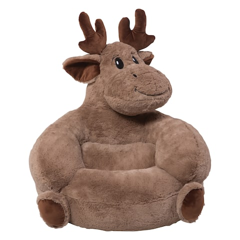 Trend Lab Children's Plush Moose Character Chair