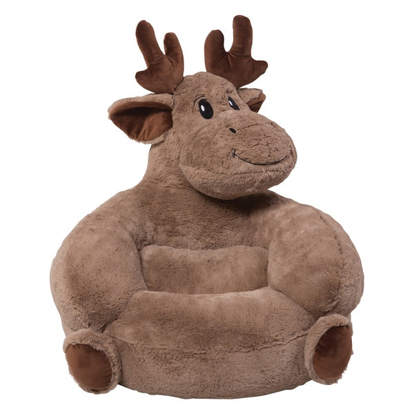 Shop Trend Lab Children S Plush Moose Character Chair