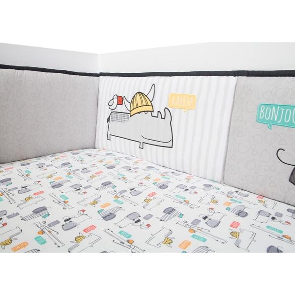 Trend Lab Cotton Hello Crib Bumpers