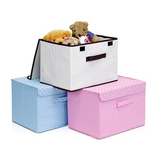 Furinno Non-woven Fabric Soft Storage Organizer with Lid (More options available)