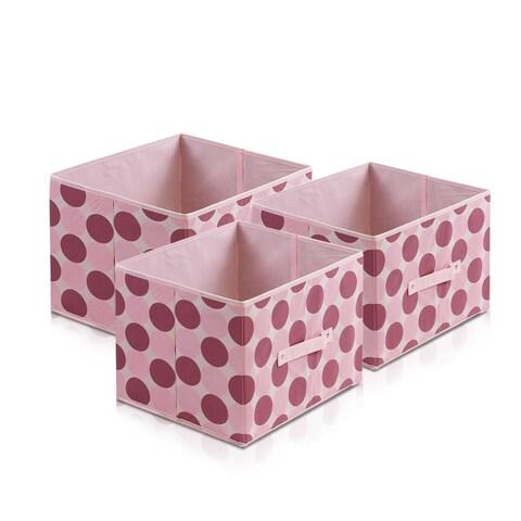 Furinno Laci Dot Design Multicolor Nonwoven Fabric Soft Storage Organizer