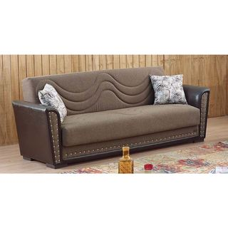 Gold Sparrow Detroit Sand Convertible Sectional Sofa And