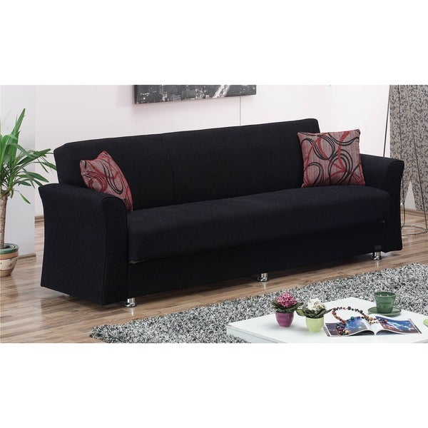 Shop Utah Convertible Sofa Bed Free Shipping Today Overstock
