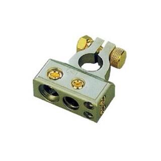 Mr DJ BTC300N Chrome Power Ring Battery Terminal