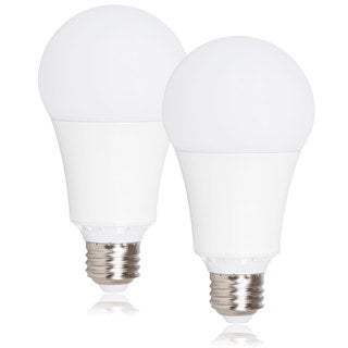 Maxxima Dimmable A21 LED Light Bulb 1600 Lumens 15 Watts Warm White (Pack of 2)