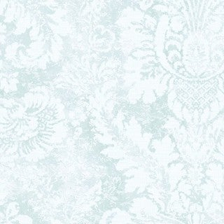 Manhattan Comfort Greenwich Multicolor Vinyl 32.7-foot x 20.5-inch Faded Damask Wallpaper