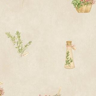 Pensacola Vinyl 32.7-foot x 20.5-inch Garden Floral Wallpaper - 32.7' x 20.5