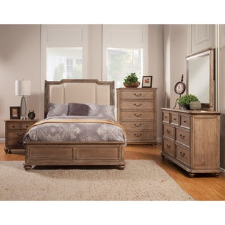 Alpine Melbourne Sleigh Bed with Uph Headboard