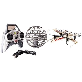 Spin Master Air Hogs Star Wars Epic Death Star vs. X-wing Battle RC Drone Set
