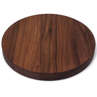Chop Block Victoria Brown Wood Round Cutting Board