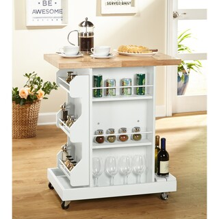 Simple Living Hampton Kitchen Cart (2 options available)