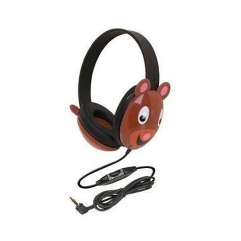 Califone 2810-BE Listening First Headphones - Bear Design