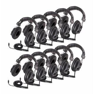 Califone 3068AV Switchable Stereo/Mono Headphones (10-Pack)