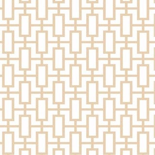 Manhattan Comfort Sheffield 32.7-foot x 20.5-inch-inch Geometric Link Wallpaper - 32.7' x 20.5