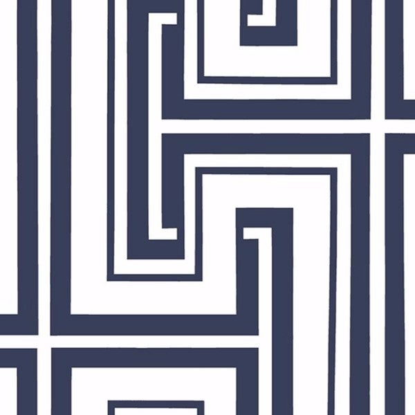Manhattan Comfort Bristol Paper-backed Vinyl 32.7-feet x 20.5-inch Geometric Maze Wallpaper