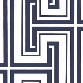 Manhattan Comfort Bristol Paper-backed Vinyl 32.7-feet x 20.5-inch Geometric Maze Wallpaper