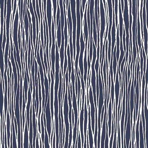Wakefield Vinyl 32.7-foot x 20.5-inch Modern Pre-pasted Stria Wallpaper