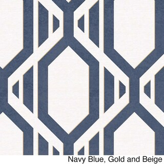 Cardiff Geometric Stripe 32.7-foot x 20.5-inch Wallpaper - 32.7' x 20.5