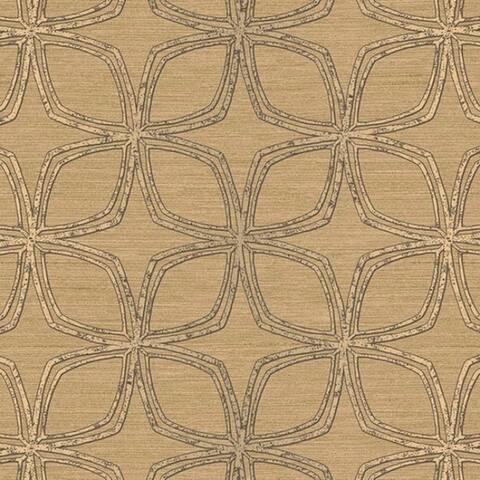 Dudley Geometric Flower 32.7' by 20.5 Wallpaper