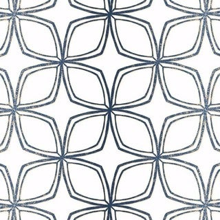 Dudley Geometric Flower 32.7' by 20.5 Wallpaper