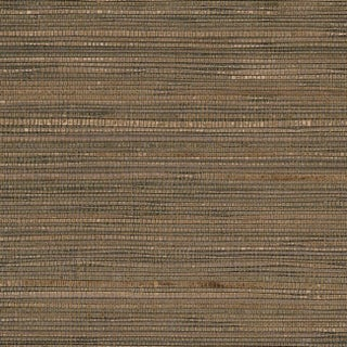 Manhattan Comfort Adams Gold, Silver, and Brown Grass Cloth 36-inch x 24-foot Glittered Paperweave Wallpaper