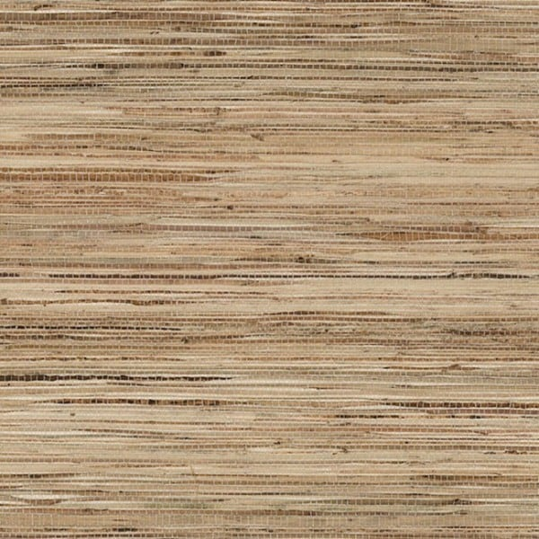 Light Brown Grass Cloth Wall Covering In This Transitional: Madison Paper Weave Grass Cloth 36-inch X 24-foot