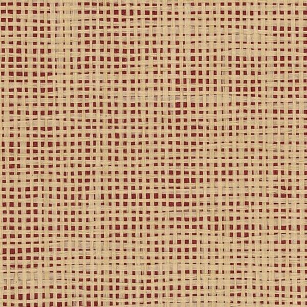 Grant White/Tan/Beige 36-inch x 24-foot Open Basketweave Grass Cloth Wallpaper