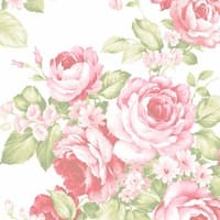 Stamford Rose Bouquet 32.7-foot x 20.5-inch Wallpaper