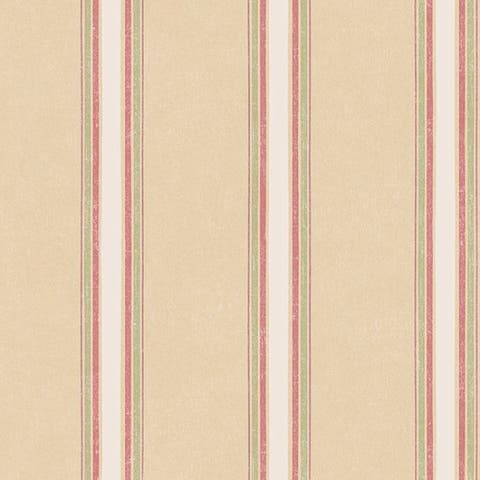 Manhattan Comfort Vernon Multicolor Vinyl 32.7-foot x 20.5-inch Striped Wallpaper