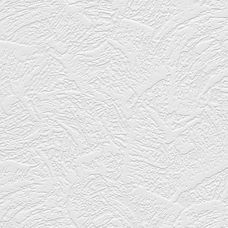 Oliver White Vinyl Textured and Paintable Wallpaper