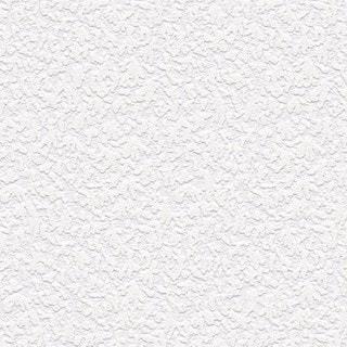 Manhattan Comfort Emily White 33-foot x 21-inch Textured Paintable Wallpaper - 33' x 21