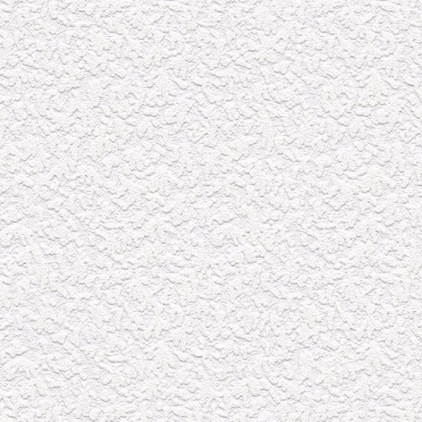 Manhattan Comfort Emily White 33-foot x 21-inch Textured Paintable Wallpaper