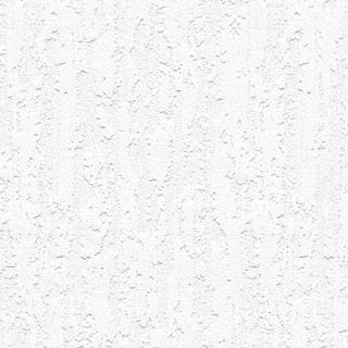 Manhattan Comfort Elizabeth White Vinyl 33-foot x 21-inch Textured Paintable Wallpaper