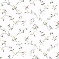 Manhattan Comfort Callaway Floral Trail Multicolored Vinyl-coated 32.7-foot x 20.5-inch Wallpaper