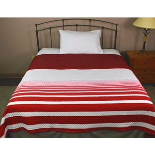 Horizon Metro Red Coverlet