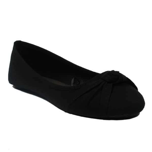 44204b3582806 Shop Blue Women s Ziggs-8 Jersey Ballerina Flats - Free Shipping On ...