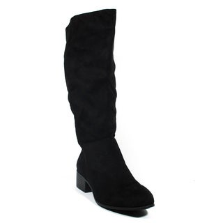 Blue Women's 'Best Gayle Black Suede Mid-calf Dress Boots